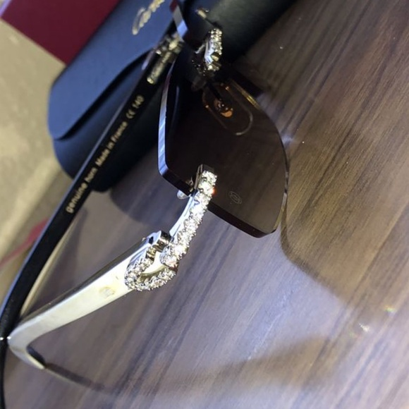416c1813dc Cartier Shades (iced out)